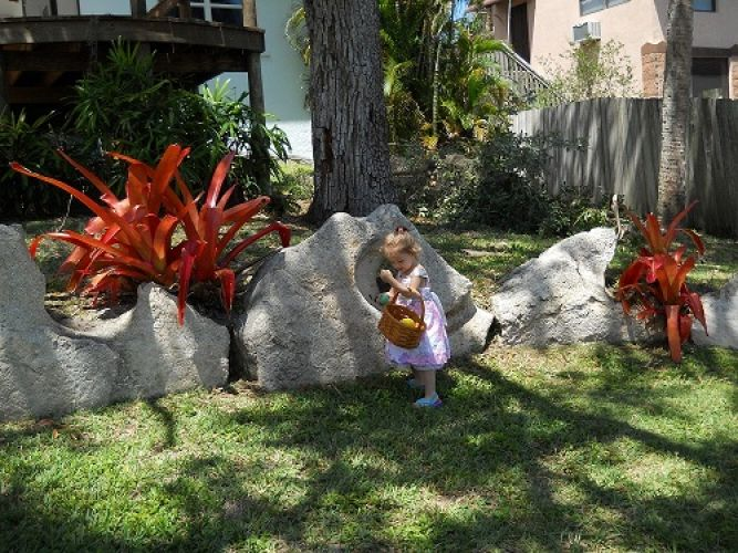 2012 Easter Rock Scaping